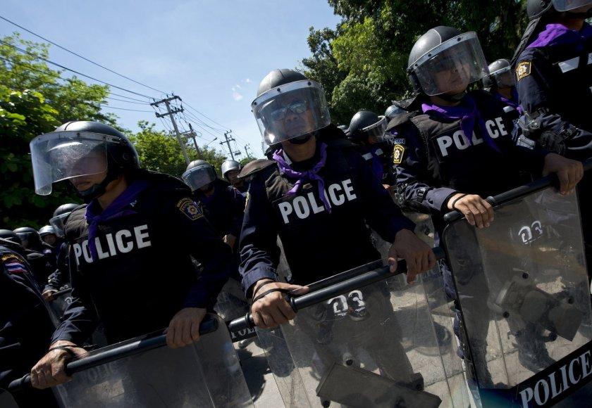 Tailando policija Bankoke