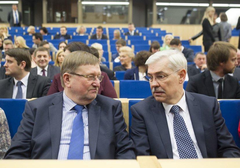 Juozas Bernatonis ir Zigmantas Balčytis