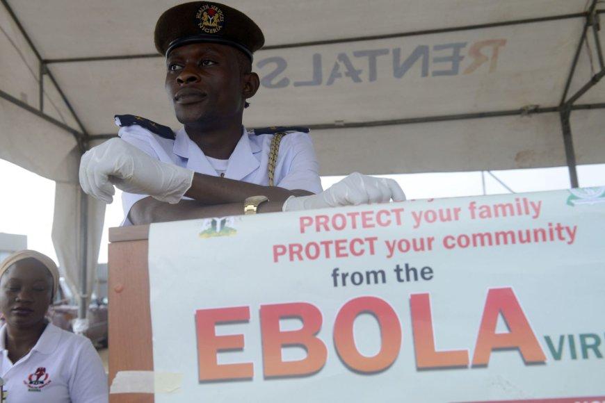 Ebolos virusas siaučia vakarų Afrikoje