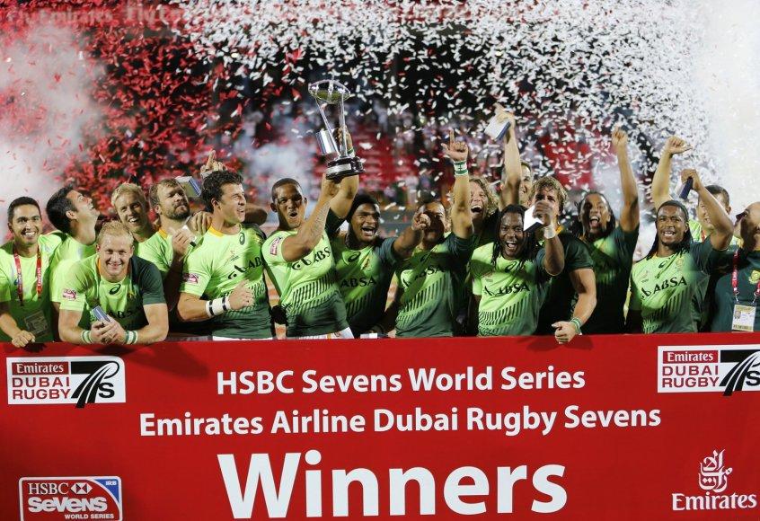 Antrą regbio-7 pasaulio taurės etapą laimėjo PAR