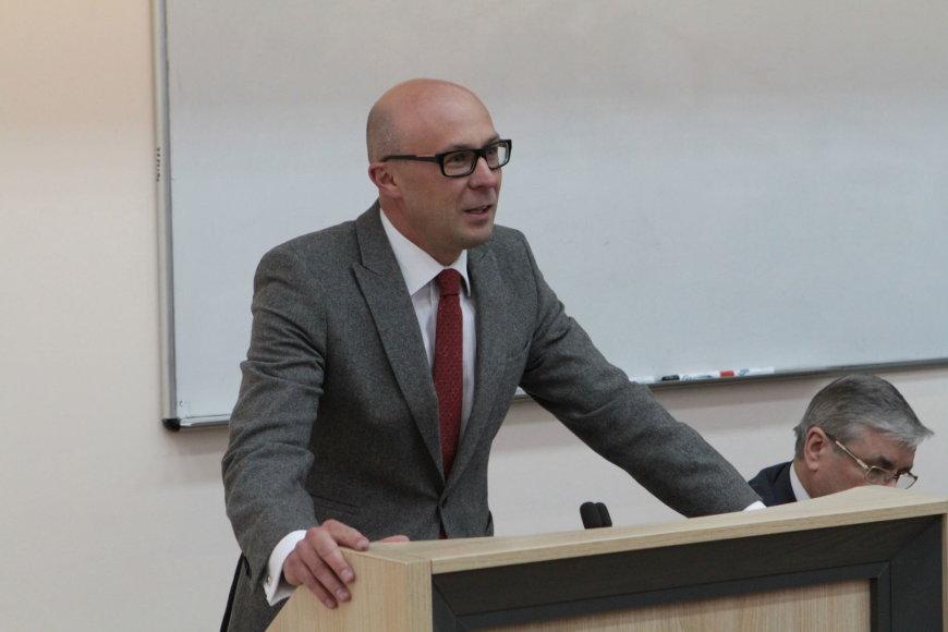 VU Teisės fakulteto dekanas prof. dr. Tomas Davulis
