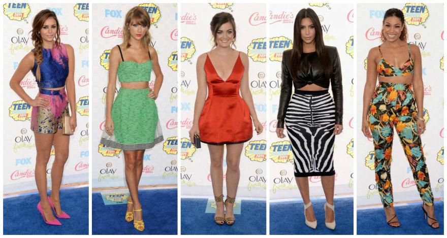 """""""Teen Choice Award"""" apdovanojimų viešnios"""
