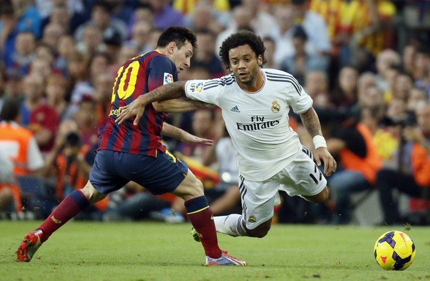 Marcelo ir Barcelona s Lionelis Messi
