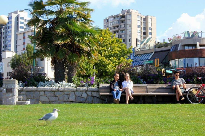 Vankuveris – gražus ir žalias miestas