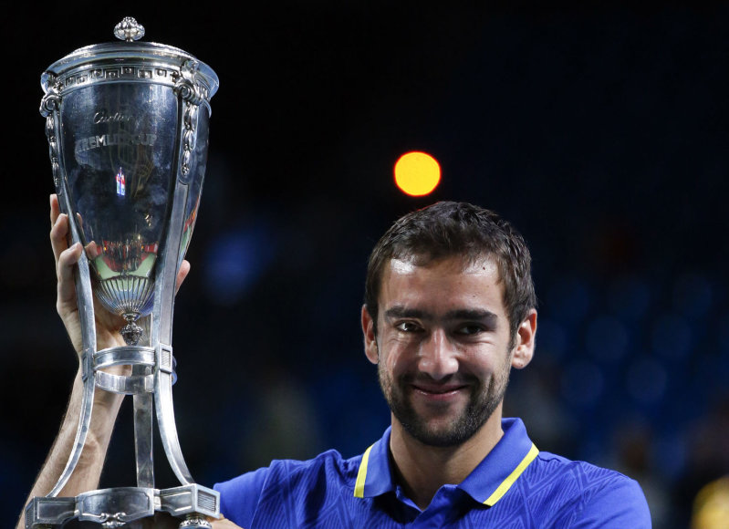 Marinas Čiličius laimėjo 13-ą ATP trofėjų karjeroje