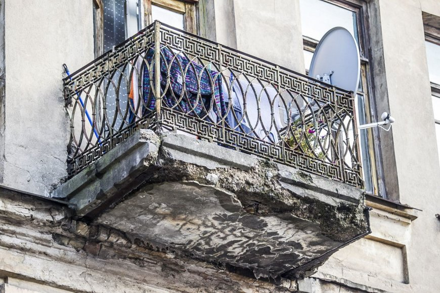 Balkonai Šv.Stepono gatvėje.