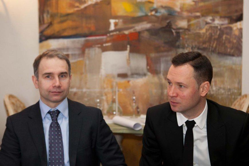 Petras Masiulis ir Petras Kirdeika