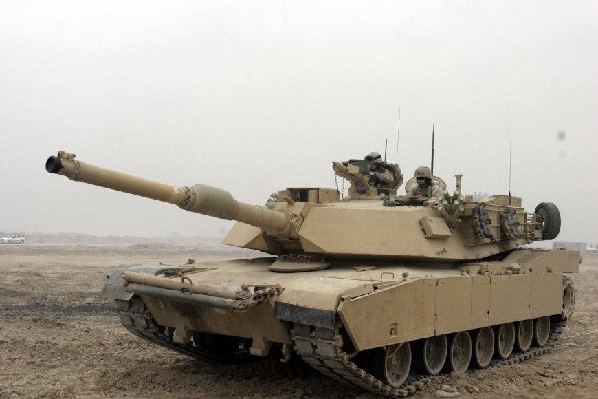 Tankas M1A1Abrams