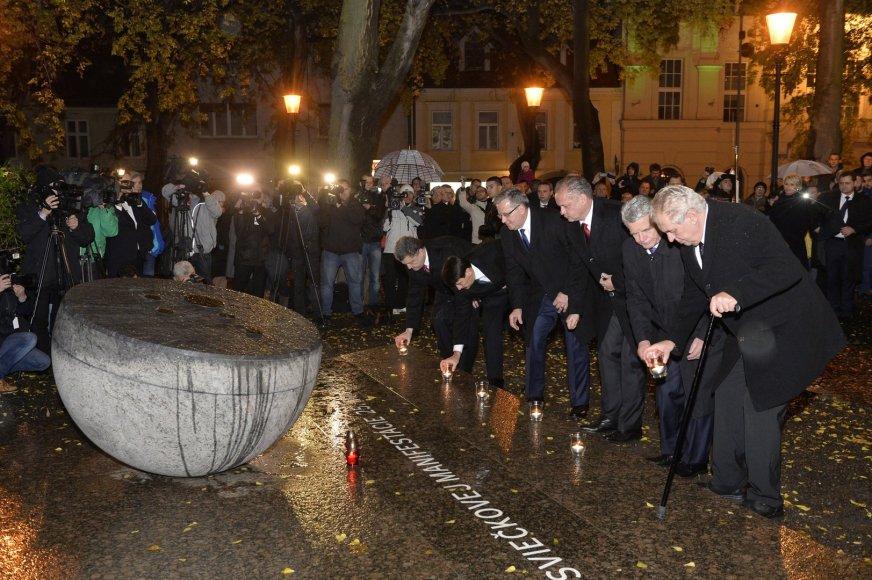 Čekijoje – Aksominės revoliucijos jubiliejus
