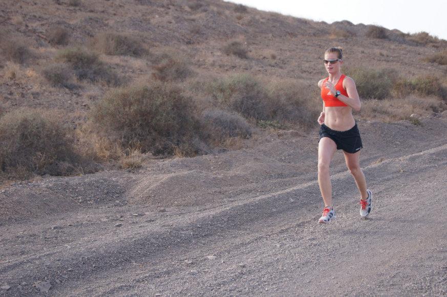 Bėgioti yra sveika