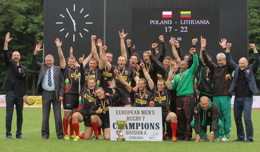 """Lietuvos regbio 7 rinktinės triumfas ir kelialapis į """"Grand Prix"""""""