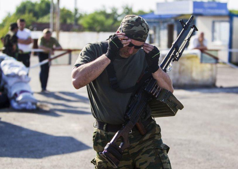 Prorusiškas teroristas Luhanske