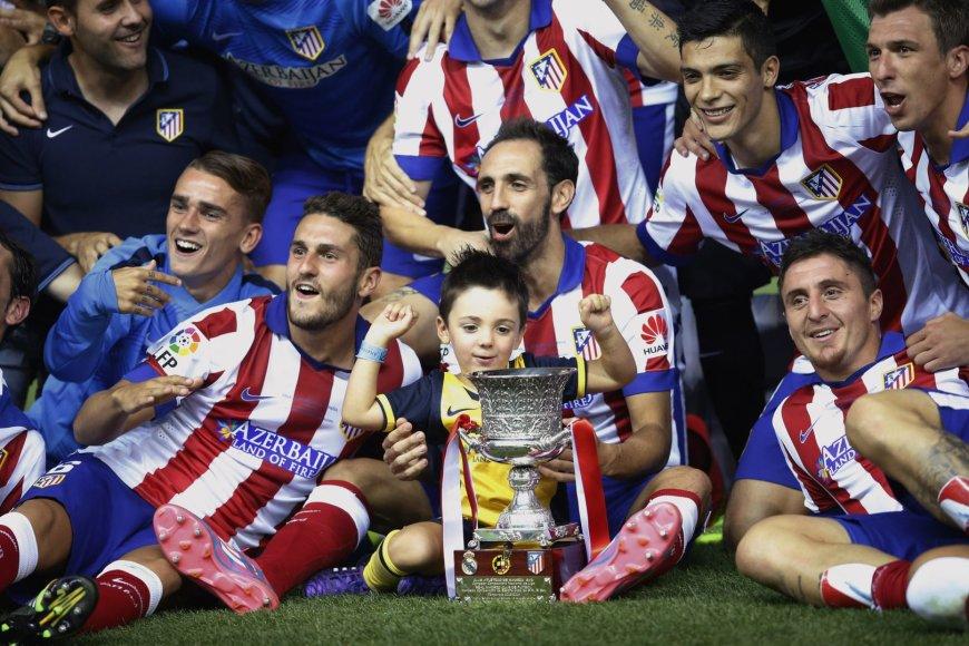 "Madrido ""Atletico"" futbolininkai"