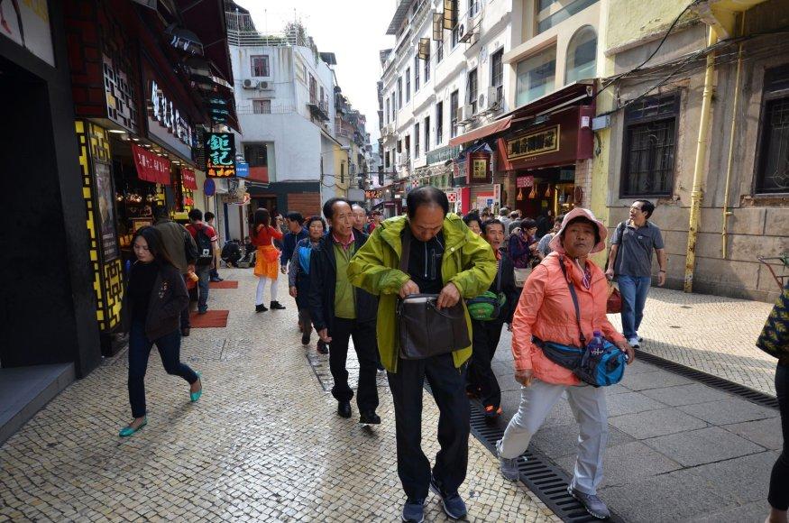 Kinų turistai