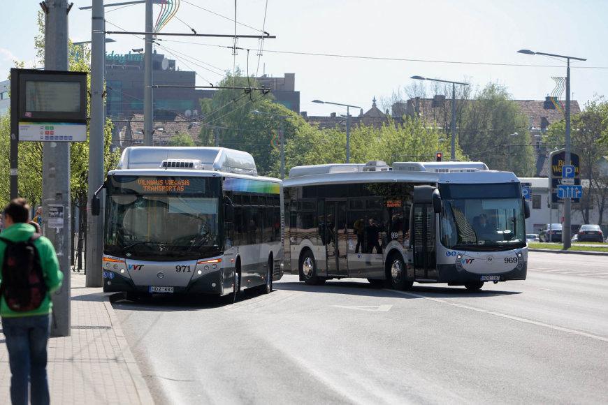 """Naujieji Vilniaus autobusai """"Castrosua"""""""