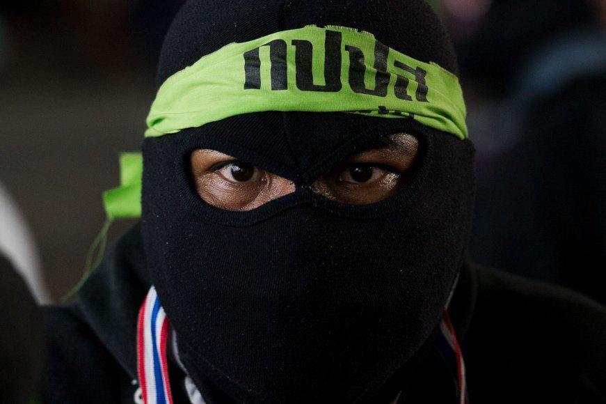 Tailande prieš rinkimus – dideli neramumai, yra sužeistų 2014 m. vasario 01 d.