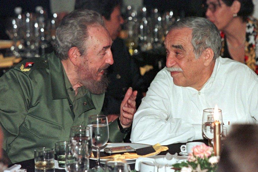 Fidelis Castro ir Gabrielis Garcia Marquezas