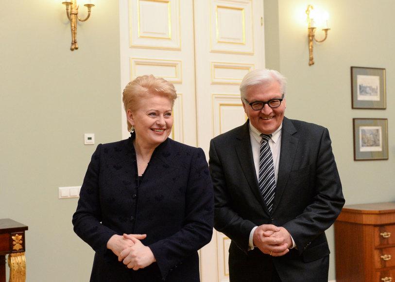 Dalia Grybauskaitė su Franku–Walteriu Steinmeieriu