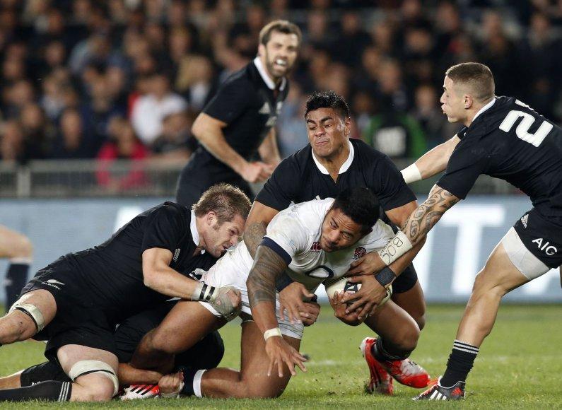 Anglijos ir Naujosios Zelandijos rungtynės