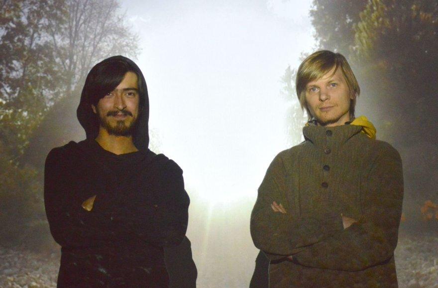 Multimedijos kompozitorius Carlos Andres Rico ir suomis Matti Pakkanenas