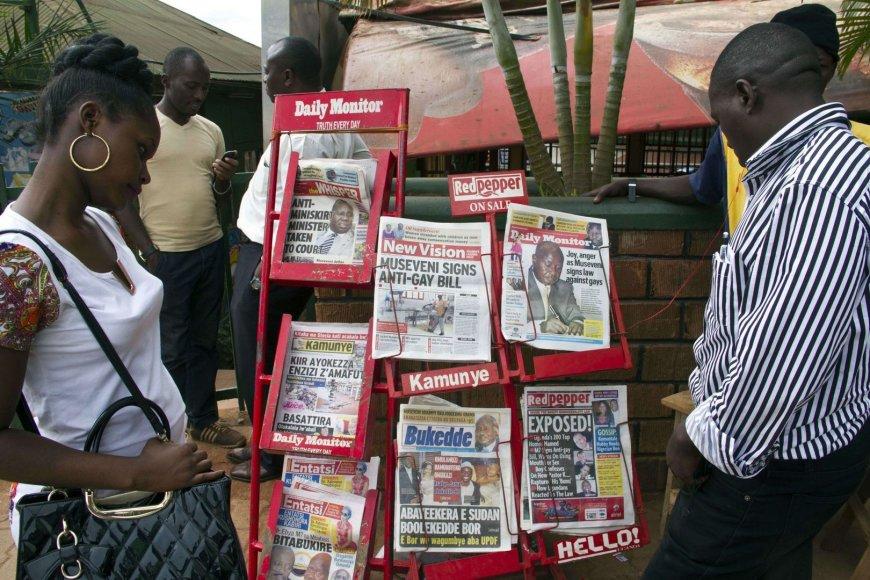 Laikraščiai Ugandoje
