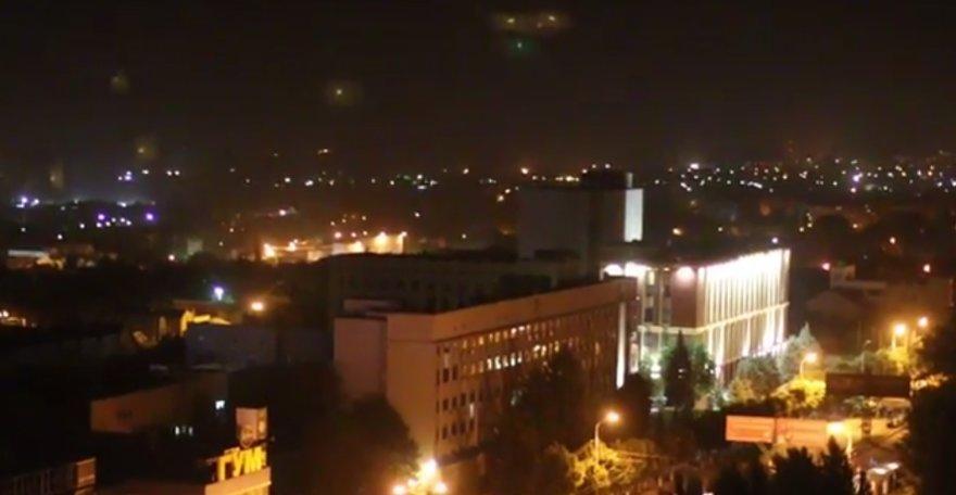 Luhanskas antradienio vakare