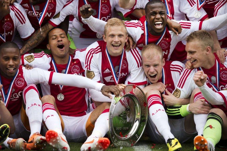 """Ajax"" tapo Nyderlandų futbolo čempionu"