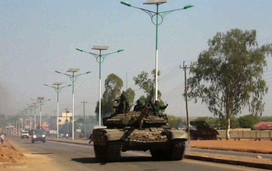 Tankas Pietų Sudane