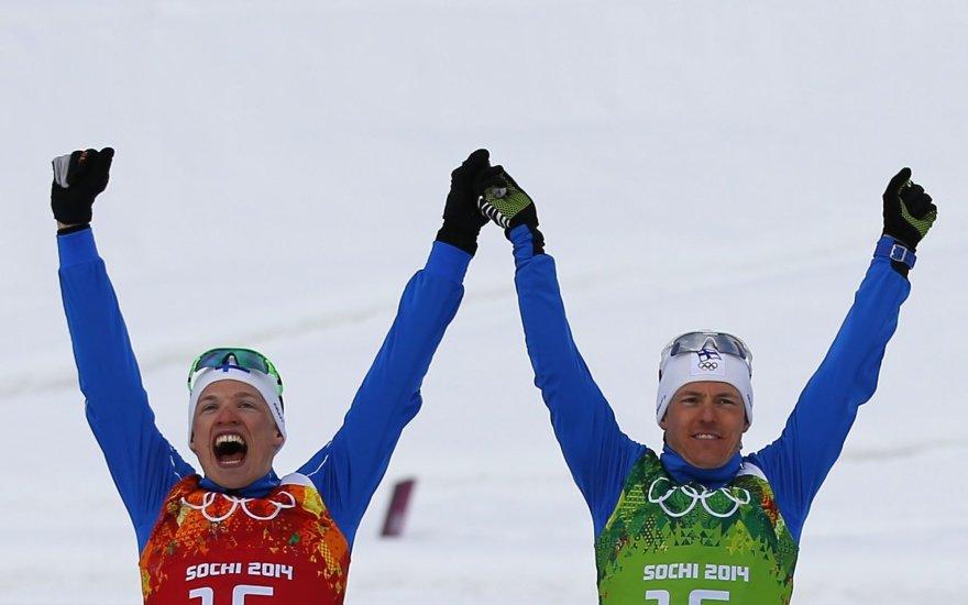 Iivo Niskanenas ir Samis Jauhoaervis