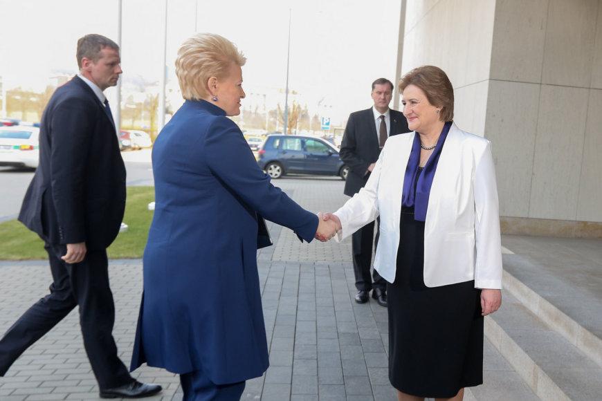 Dalia Grybauskaitė ir Loreta Graužinienė