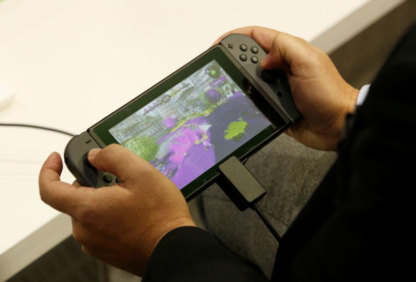 """""""Nintendo Switch"""" žaidimų kompiuteris"""