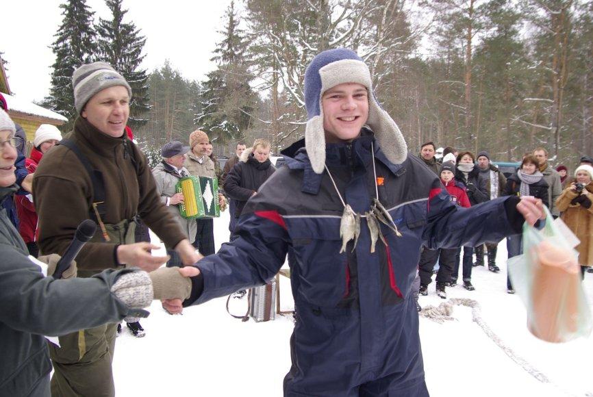 Mindūnai taps Lietuvos poledinės žūklės sostine 2014 m. vasario 21 d.