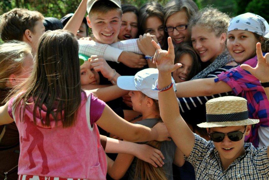 Vaikų vasaros poilsio stovyklos – proga pasisemti įspūdžių visiems metams/Stovykla Lietuvos atgaja