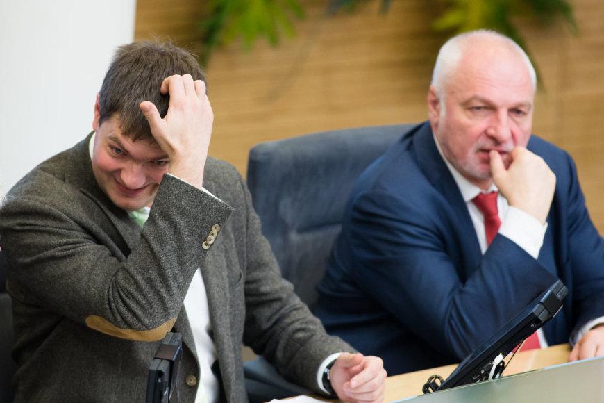 Andrius Mazuronis ir Valentinas Mazuronis