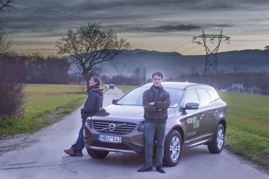 """Vilnius-Ženeva su """"Volvo XC60"""""""