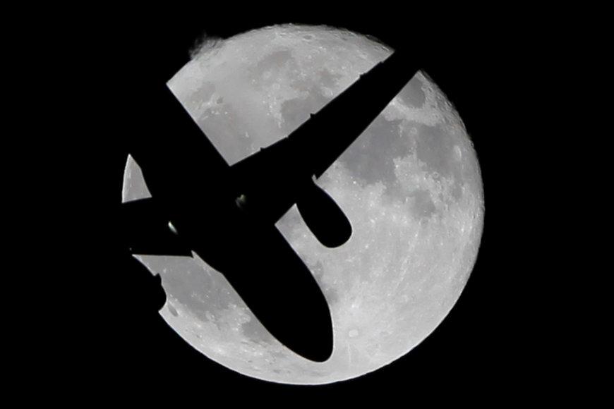 Ypač ryški mėnulio pilnatis arba supermėnulis