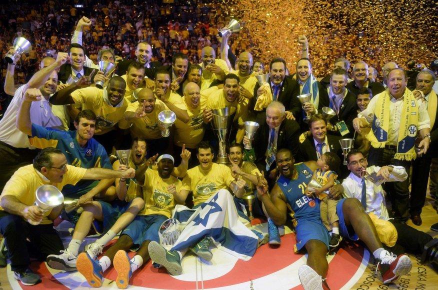 """""""Maccabi"""" – Eurolygos čempionai"""