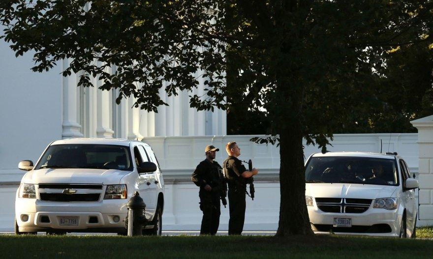 Pareigūnai prie Baltųjų rūmų