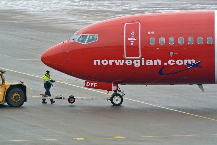 Norvegų lėktuvas