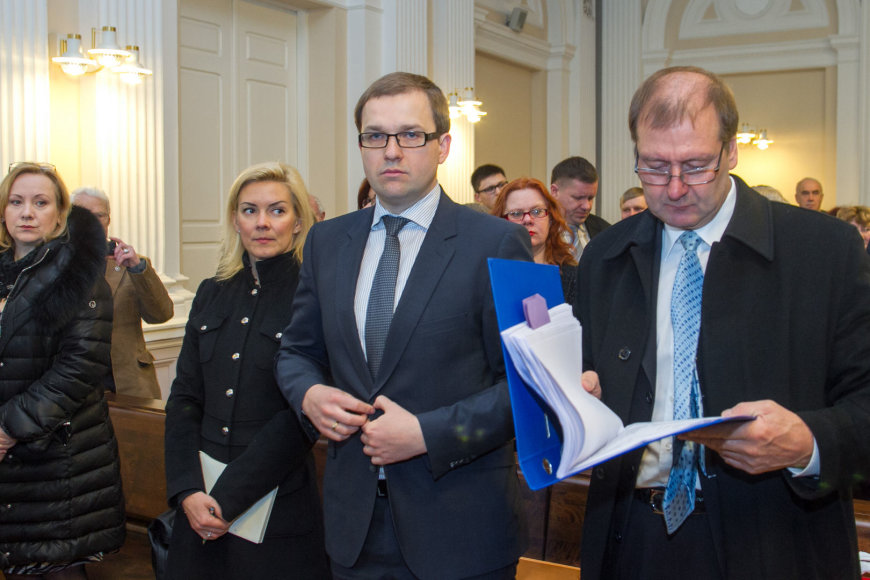 Marina Liutkevičienė, Vitalija Vonžutaitė, Vytautas Gapšys ir Viktoras Uspaskichas