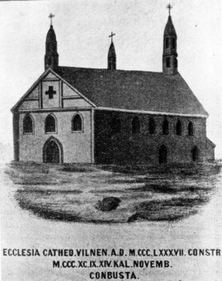 Pirmoji Vilniaus katedra (Jogailos)