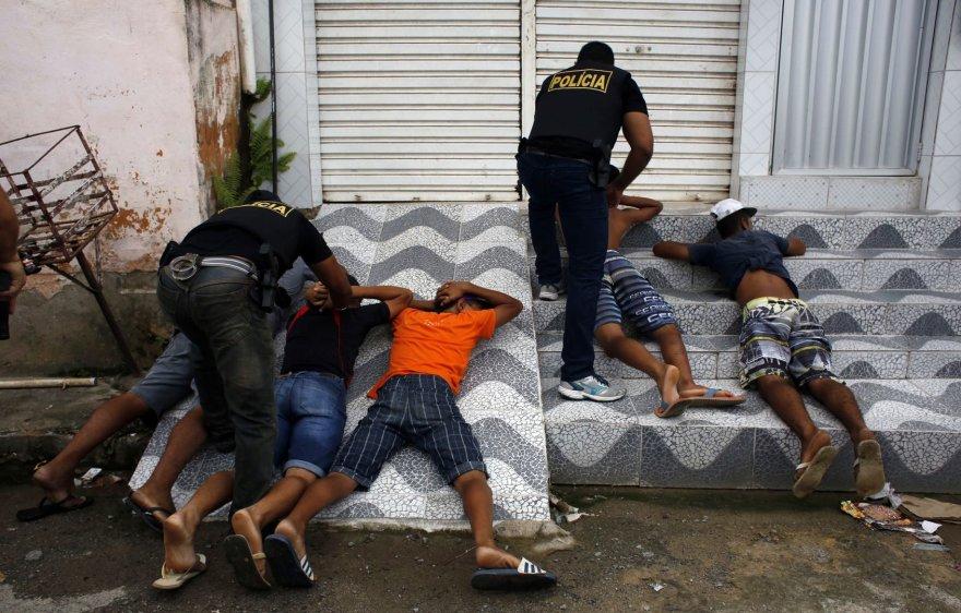 Brazilijos policija šiomis dienomis turi darbo