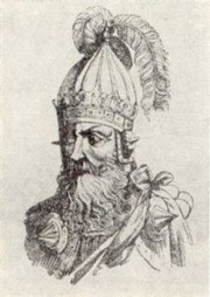 Lietuvos didysis kunigaikštis Švarnas, kuris taip ir nepamatė Lietuvos