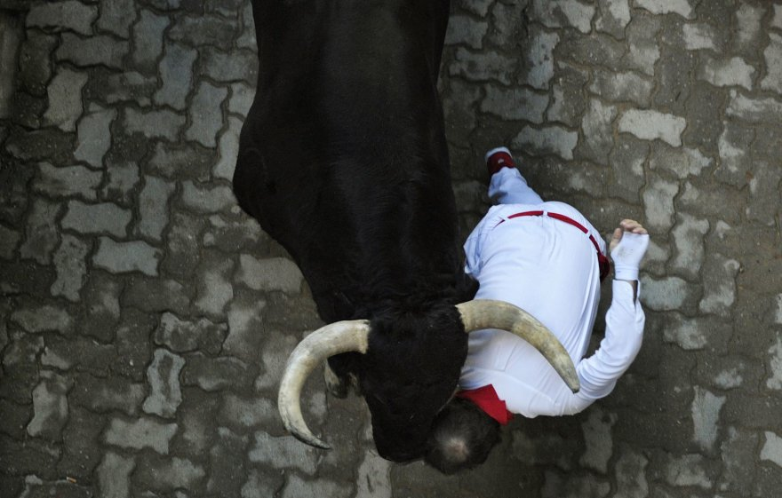 Pamplonos bulių lenktynės