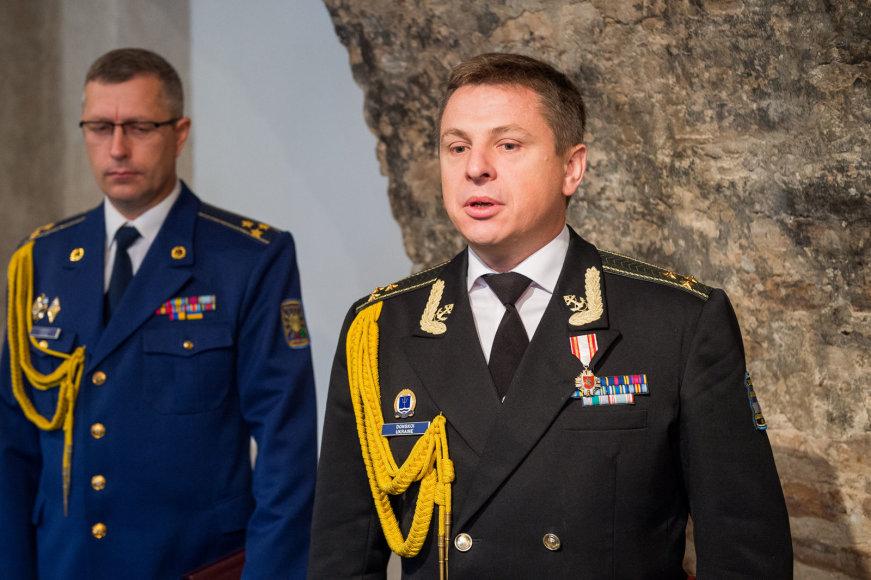 Krašto apsaugos ministerijoje akredituotas naujasis Ukrainos gynybos atašė Lietuvai pulkininkas Oleksandras Koberskis