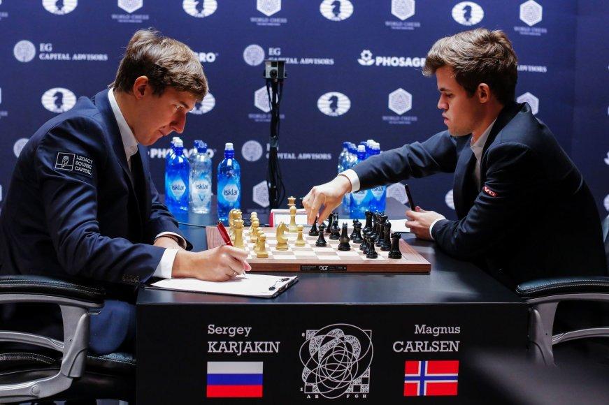 Kova dėl pasaulio čempiono titulo: Magnusas Carlsenas – Sergejus Karjakinas