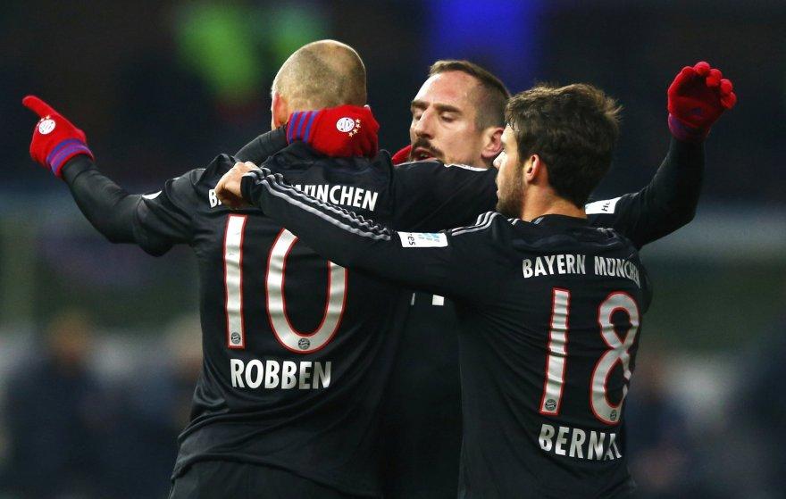 """Bayern"" iškovojo pergalę"