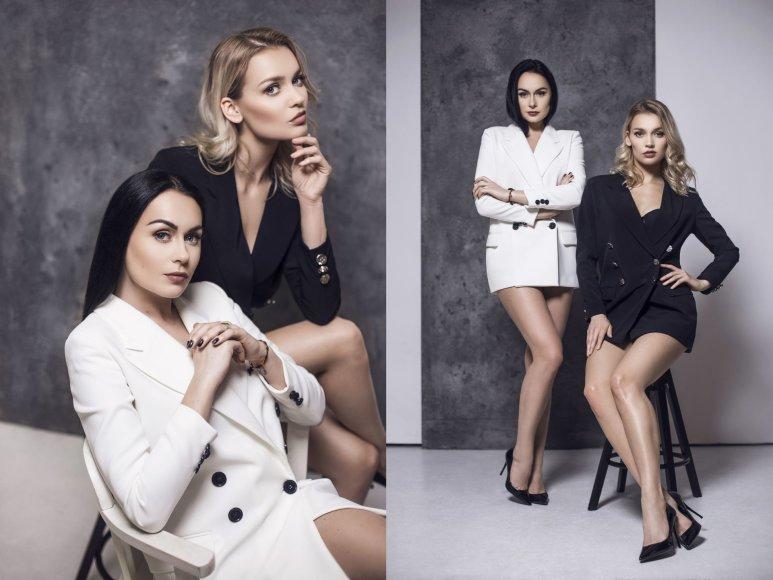 """""""Pinup girls"""": Simona Nainė ir Viktorija Sutkutė"""