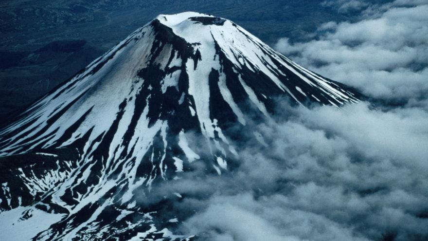 Tongariro nacionaliniame parke.
