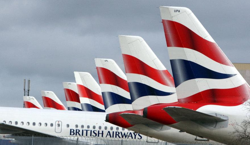"""Scanpix""/""PA Wire""/""Press Association Images"" nuotr./""British Airways"" lėktuvai"